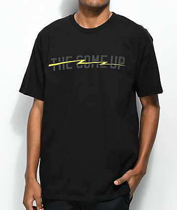 The Come Up Lightning Black T-Shirt