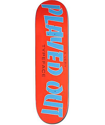 "The Friend Ship Played Out 8.3"" Skateboard Deck"