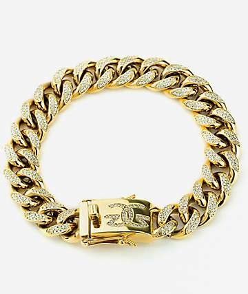 The Gold Gods Diamond Cuban Bracelet