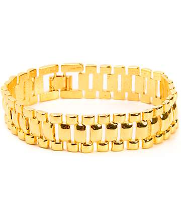 The Gold Gods Gold Watch Link Bracelet