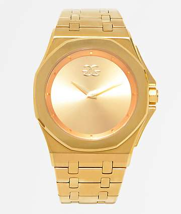 The Gold Gods Octavius Gold Analog Watch