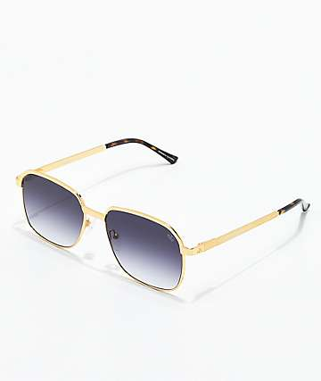 The Gold Gods The Apollo Gold & Black Gradient Sunglasses