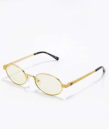 The Gold Gods The Ares Yellow Gradient Sunglasses