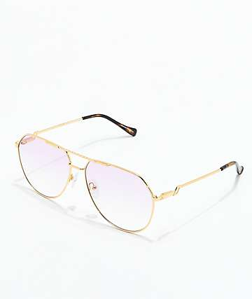 The Gold Gods The Escobar Pink Gradient Sunglasses