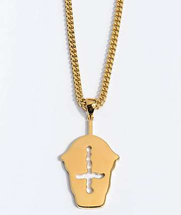 The Gold Gods X Slush Cult Necklace