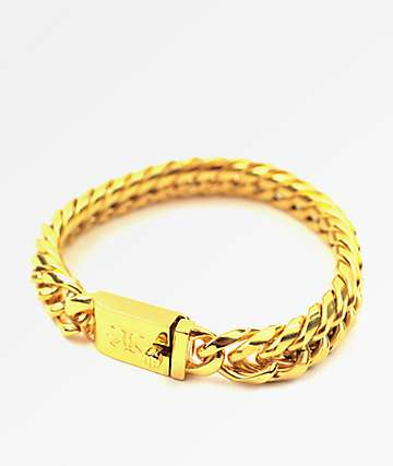 The Gold Gods pulsera Cuban Link