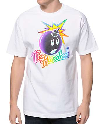 The Hundreds Adam Frank White T-Shirt