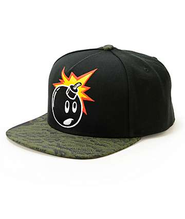 The Hundreds Adam Pattern Snapback Hat