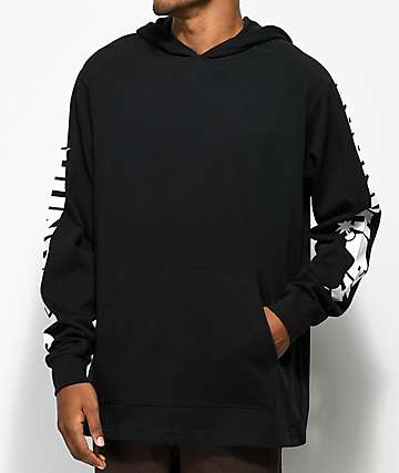 The Hundreds Alpha Hooded Pullover Black Hoodie