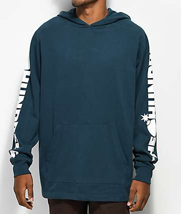 The Hundreds Alpha Hooded Pullover Blue Hoodie