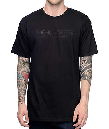 The Hundreds Avante Black T-Shirt
