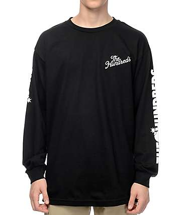 The Hundreds Bars Black Long Sleeve T-Shirt