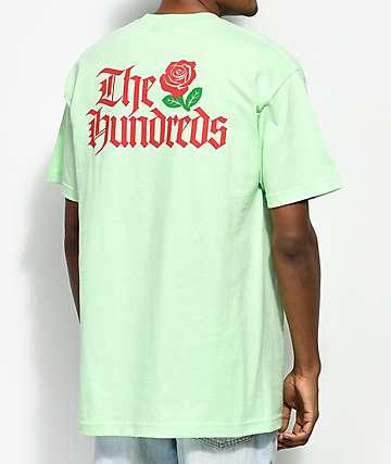 The Hundreds Big Rose camiseta en menta