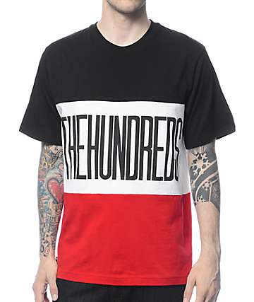 The Hundreds Block Black T-Shirt