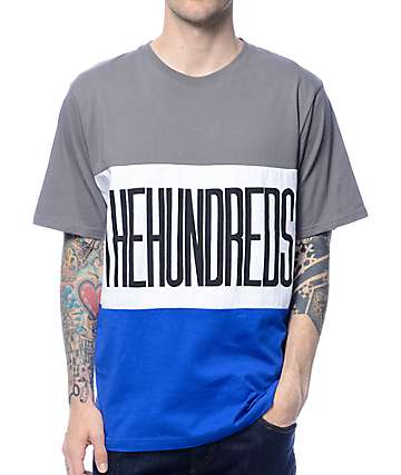The Hundreds Block Charcoal T-Shirt