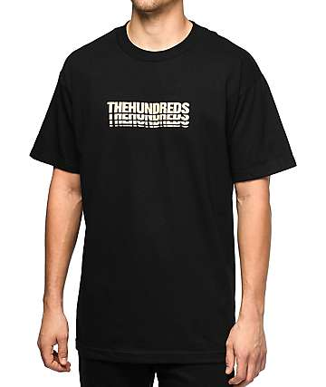 The Hundreds Blocks camiseta negra