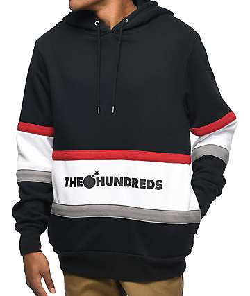 The Hundreds Briggs Black Hoodie