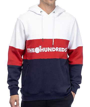 The Hundreds Canal White Hoodie