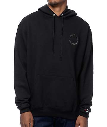 The Hundreds Chiefs Black Pullover Hoodie