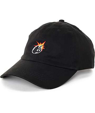 The Hundreds Classic Adam Black Strapback Hat