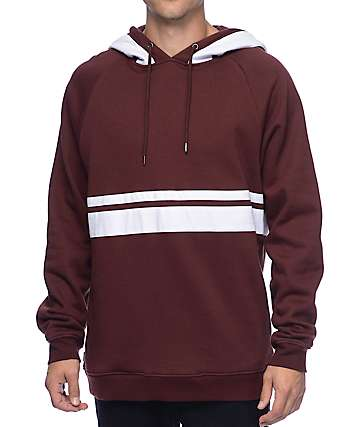The Hundreds Club Maroon Hoodie