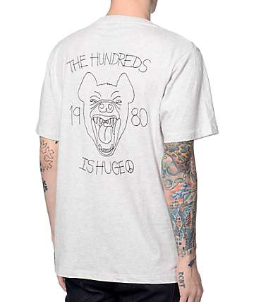 The Hundreds Combat Heather Grey T-Shirt