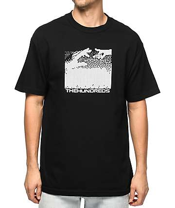 The Hundreds Connected camiseta negra
