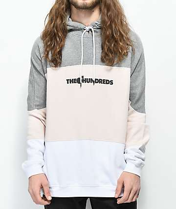 The Hundreds Coropus Grey Hoodie