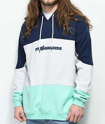 The Hundreds Coropus Navy Hoodie