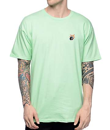 The Hundreds Crest Adam Mint T-Shirt