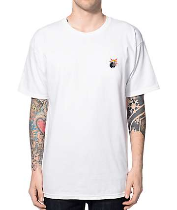 The Hundreds Crest Adam camiseta blanca