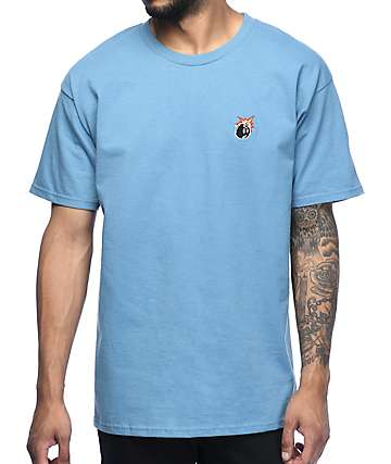 The Hundreds Crest Adam camiseta color piedra