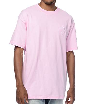 The Hundreds Crest Simple Adam Pink T-Shirt