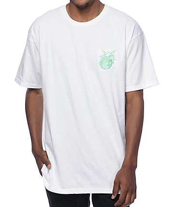 The Hundreds Crest Simple Adam White T-Shirt