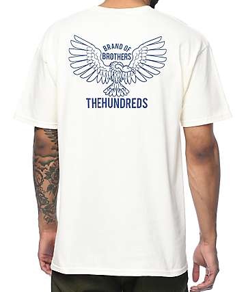 The Hundreds Cycle camiseta en color crema