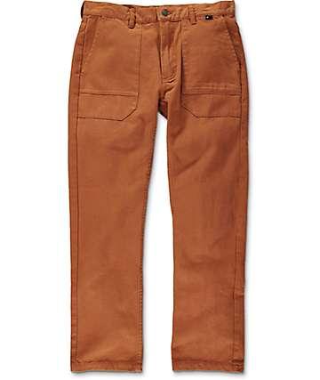 The Hundreds Delco pantalones marrones