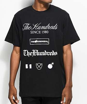 The Hundreds Dunn Black T-Shirt