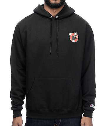 The Hundreds Exterminator Black Hoodie