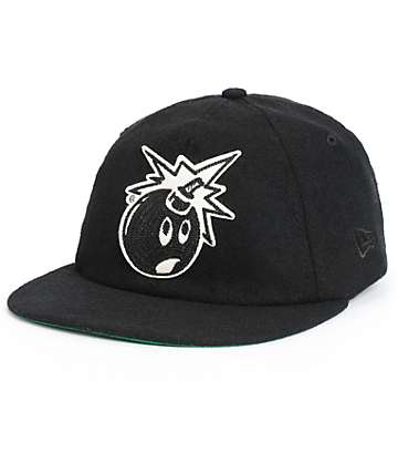 The Hundreds Felt Adam New Era Strapback Hat