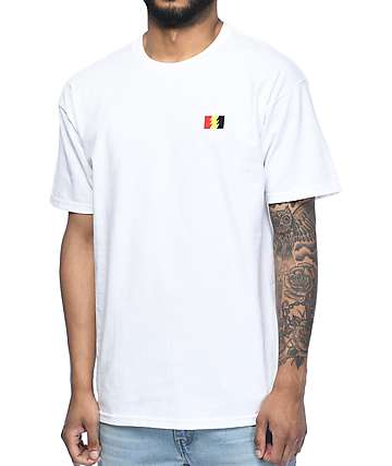 The Hundreds Flag Emblem camiseta blanca