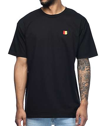 The Hundreds Flag Emblem camiseta negra