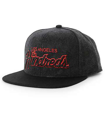 The Hundreds Forever Team Hyena Snapback Hat