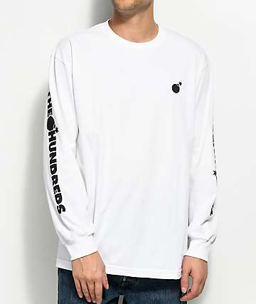 The Hundreds Forever White Long Sleeve T-Shirt