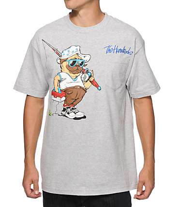The Hundreds Gone Fishing Pocket T-Shirt