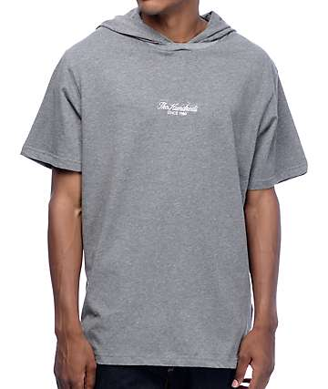 The Hundreds Haze Hooded Grey T-Shirt