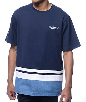 The Hundreds Howard Navy T-Shirt