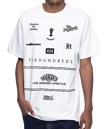 The Hundreds Klein White T-Shirt