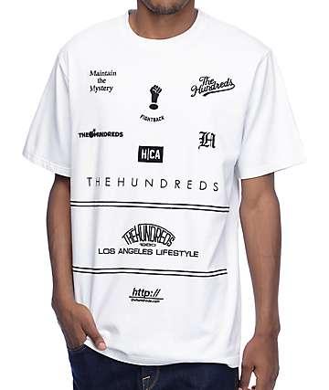 The Hundreds Klein White T-Shirt