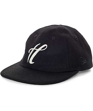 The Hundreds Meaning Black New Era Strapback Hat