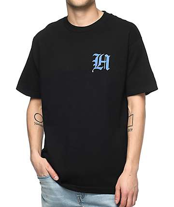 The Hundreds Old H Black T-Shirt